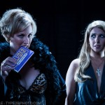 Photograph of Joyce & Buffy from Whedonesque Burlesque 2