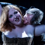 Photograph of Saffron & Mal from Whedonesque Burlesque 2