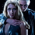 Photograph of Spike & Buffy from Whedonesque Burlesque 2